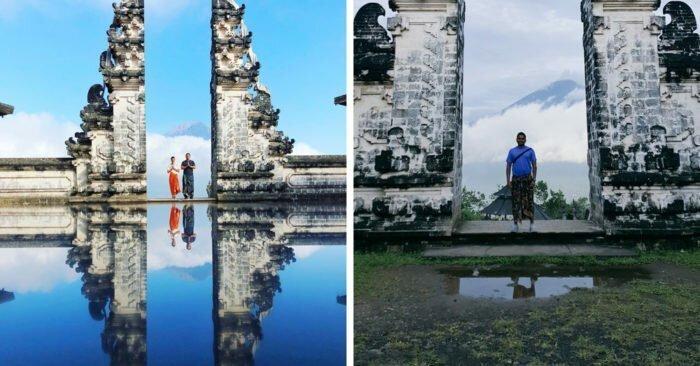 Волшебное озеро на Бали оказалось обманом