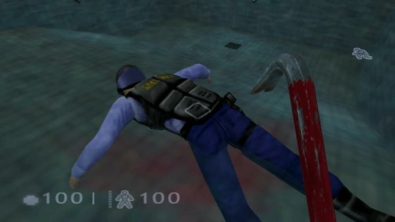 В Half-Life: Decay нашли новую пасхалку, которую можно активировать ударив труп охранника 600 раз