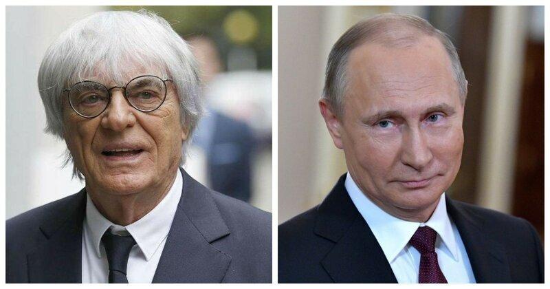 Британский миллиардер Берни Экклстоун готов заслонить Владимира Путина от пули