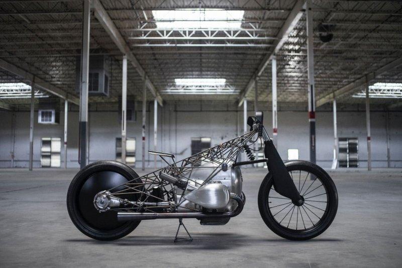 Revival Cycles: кастом-байк BMW «Птичья клетка»