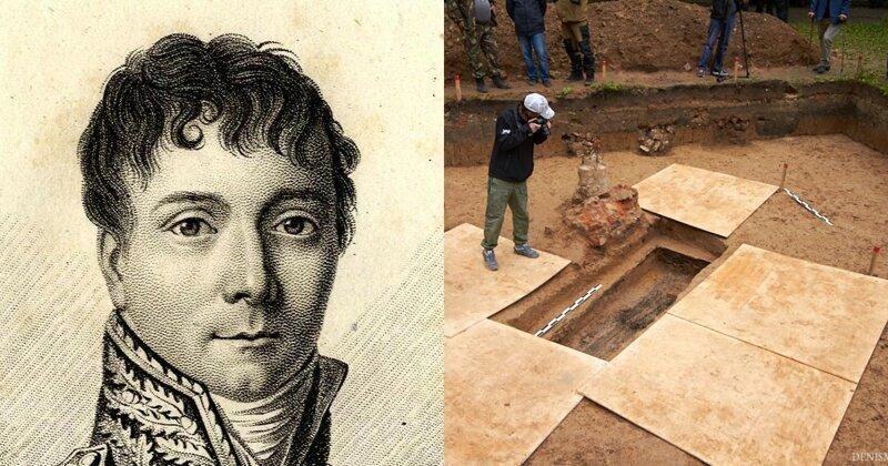 В центре Смоленска нашли могилу соратника Наполеона