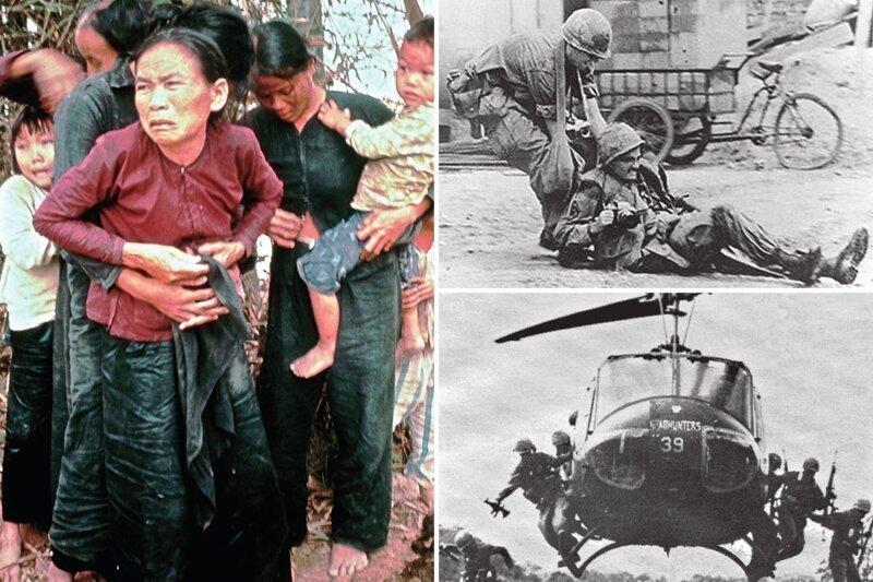Жестокие реалии войны во Вьетнаме