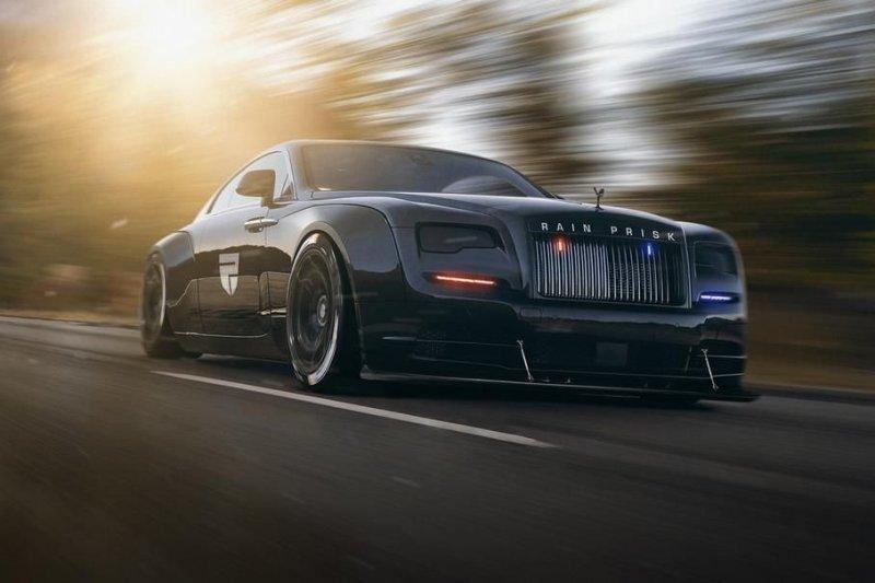 Фантазии на тему экстремального тюнинга Rolls-Royce