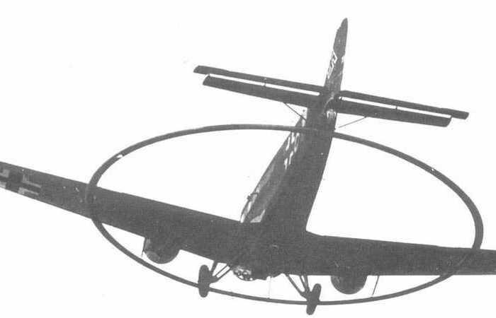 Для чего немцы устанавливали на свои самолеты большие кольца