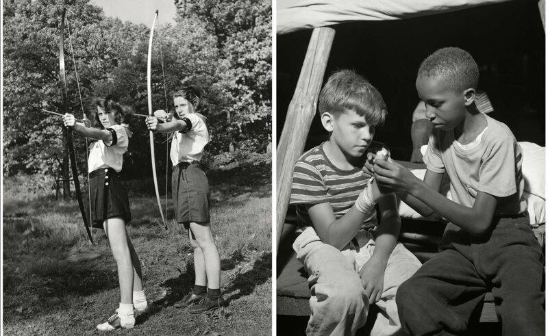 Как выглядели летние лагеря для школьников в США в 50-е годы