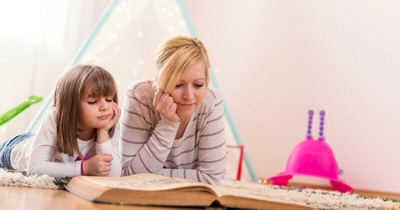 Для чего детям читают сказки?