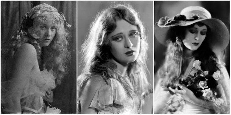 Богиня немого кино: 30 прекрасных черно-белых портретов Долорес Костелло