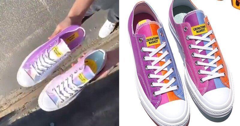 Converse представил кеды, меняющие цвет под ультрафиолетовыми лучами