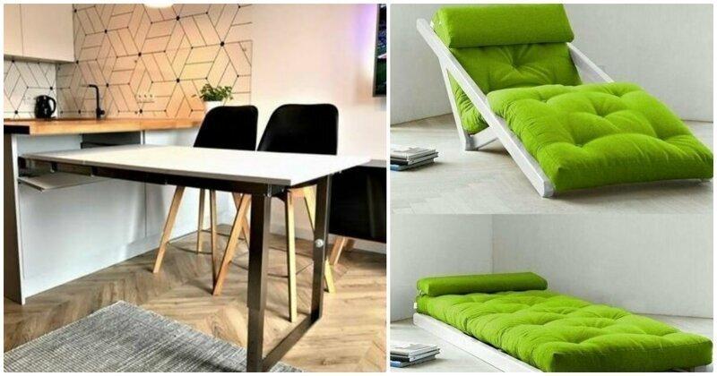 Мебель-конструктор: 20 идей для небольших квартир