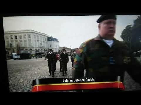 НАТО на пороге: праздничный марш бельгийских войск