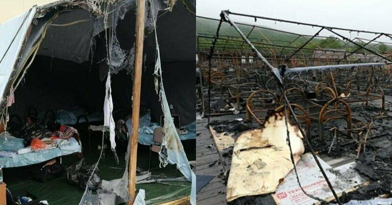 Под Хабаровском сгорел палаточный детский лагерь, есть жертвы