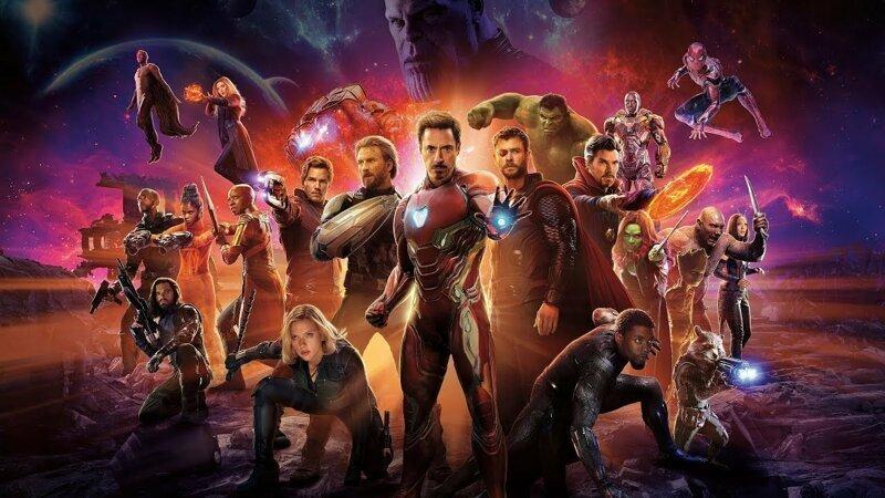 Пять фильмов Marvel вошли в десятку самых кассовых фильмов всех времен
