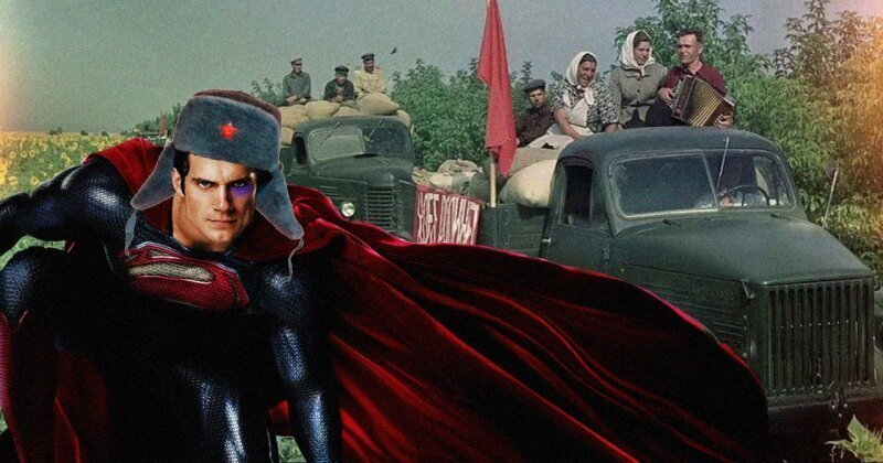 В США готовятся снять фильм про Супермена из советского колхоза