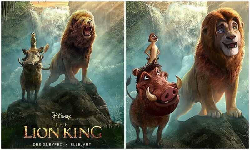 """Персонажам нового """"Короля Льва"""" подарили мультяшные эмоции"""