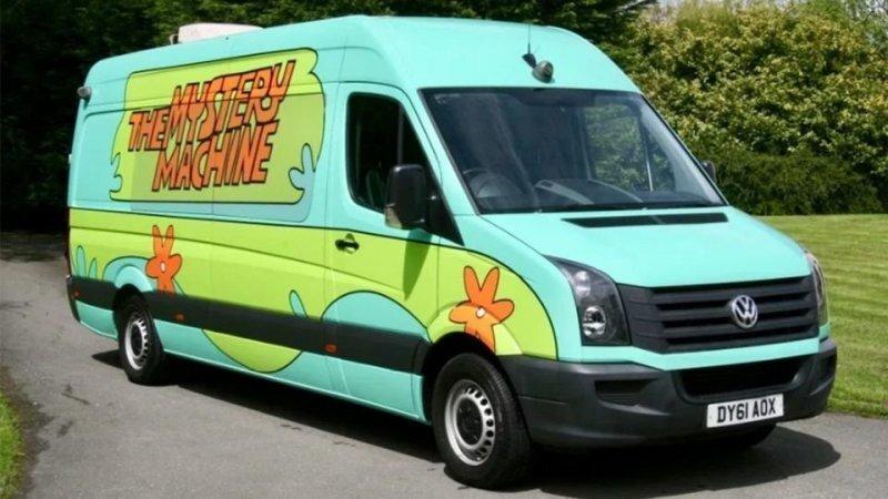 На продажу выставили фургон из мультфильма «Скуби Ду»