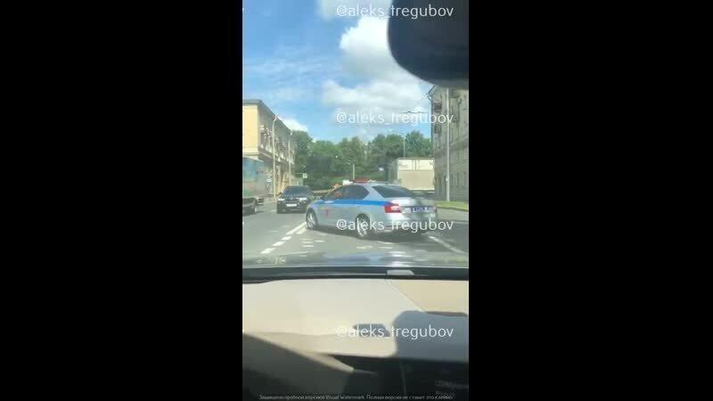Стражи правопорядка на дорогах провели почти успешное задержание