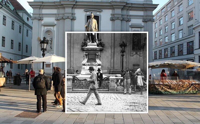 10 фотосравнений: столица Австрии в прошлом и сегодня