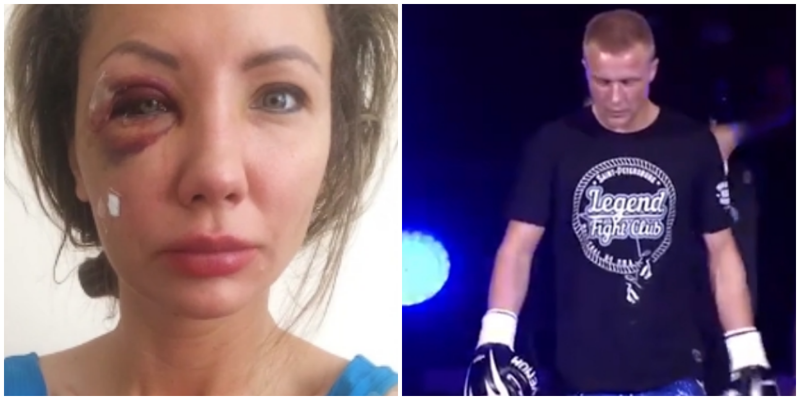 Питерский кикбоксёр избил свою даму из-за отказа сварить суп