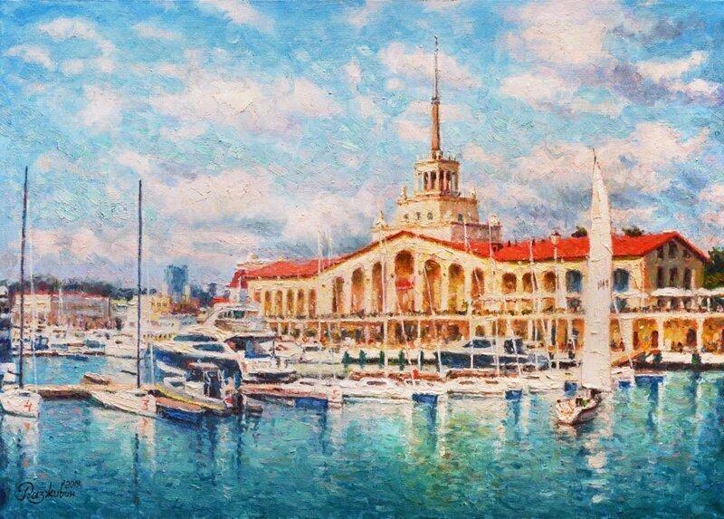Морской порт Сочи 2019г