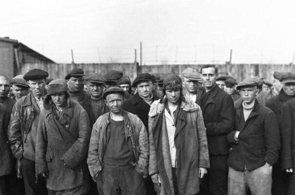 Три года в немецком лагере. Реальная история