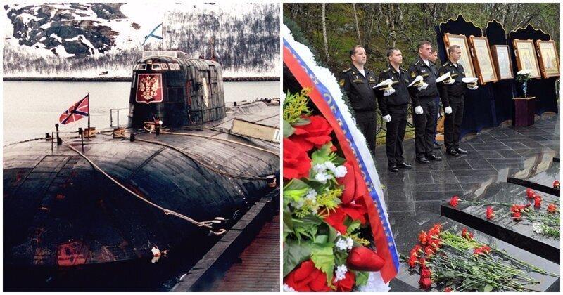 В России почтят память моряков, погибших на подводной лодке «Курск»