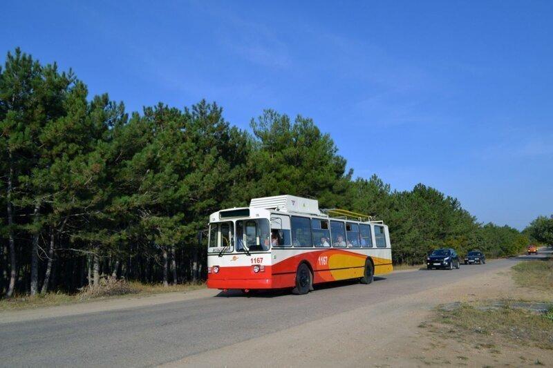 Модернизация троллейбуса Зиу-9 для автономного хода