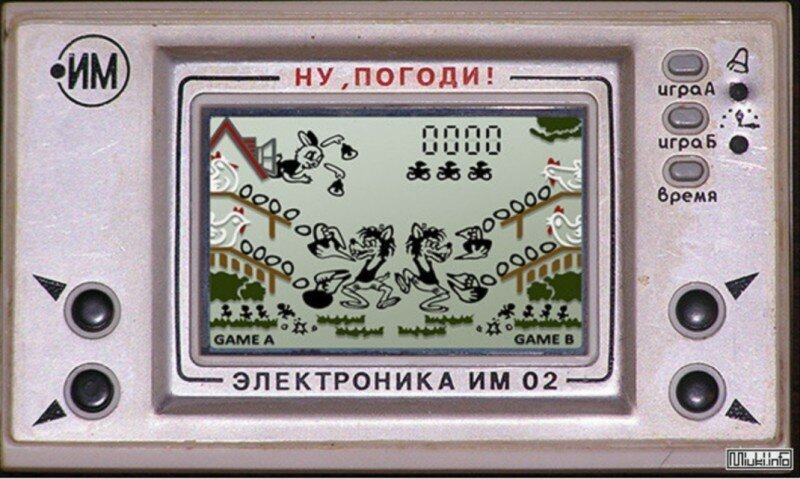 Японская игра «Game & Watch». Прототип легендарной советской «Электроники»