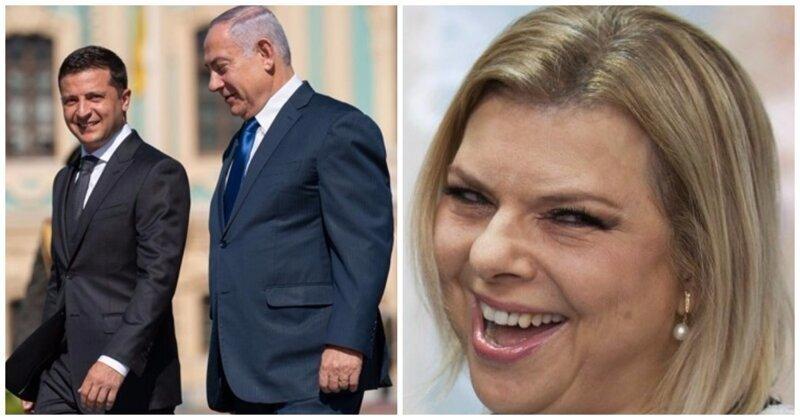 Жена израильского премьер-министра устроила скандал на пути в Киев