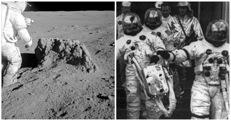 Образцы лунного грунта, доставленные миссией «Апполон-14», оказались земными