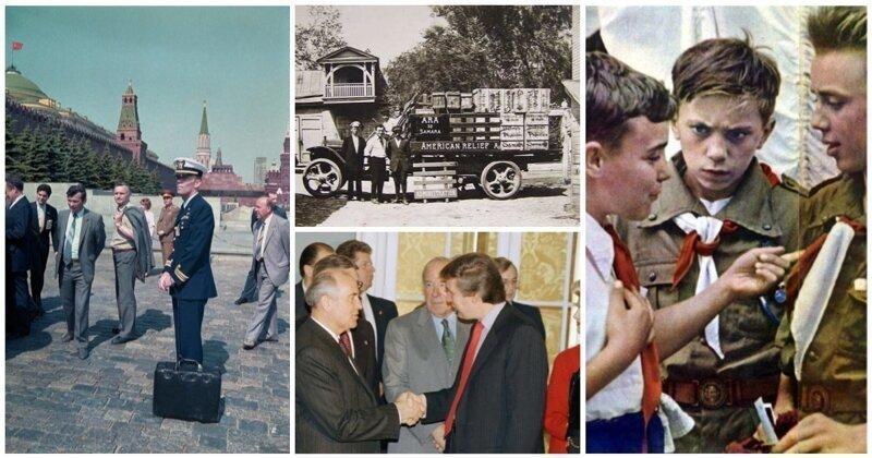 В СССР и обратно: фото, приподнимающие железный занавес