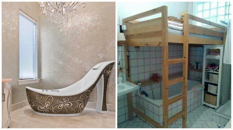 30 ванных комнат, в которых поработали горе-дизайнеры