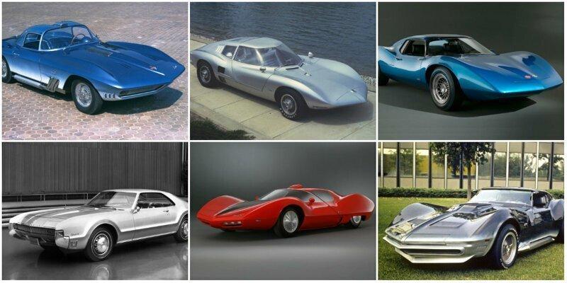 """От Pontiac Phantom до Mini-Camaro: 10 знаменитых моделей """"Studio X"""" из 1960-х"""