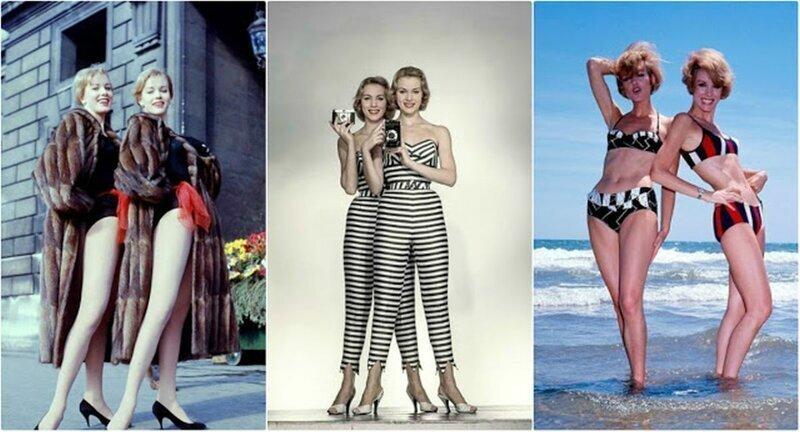 45 гламурных фотографий близнецов Кесслер в 1950-х и 1960-х годах