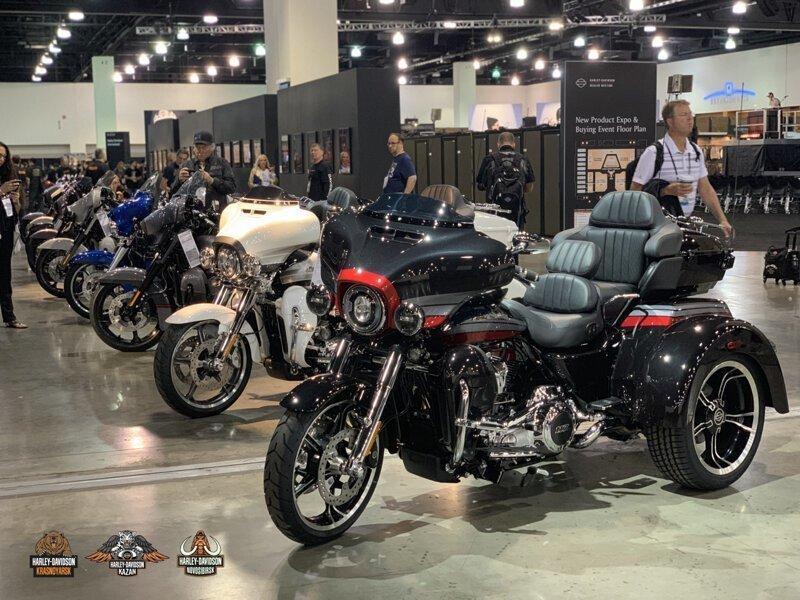 Представлен 2020 модельный год мотоциклов Harley-Davidson