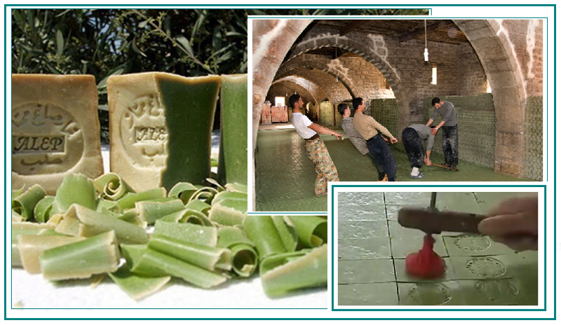 Про самое знаменитое мыло - сирийское мыло из Алеппо