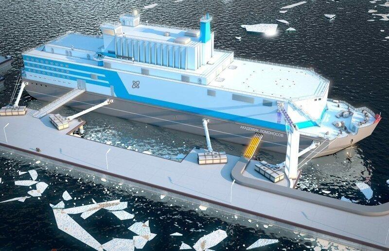 «Академик Ломоносов» – первая в мире плавающая АЭС отправилась в Северный  ледовитый океан