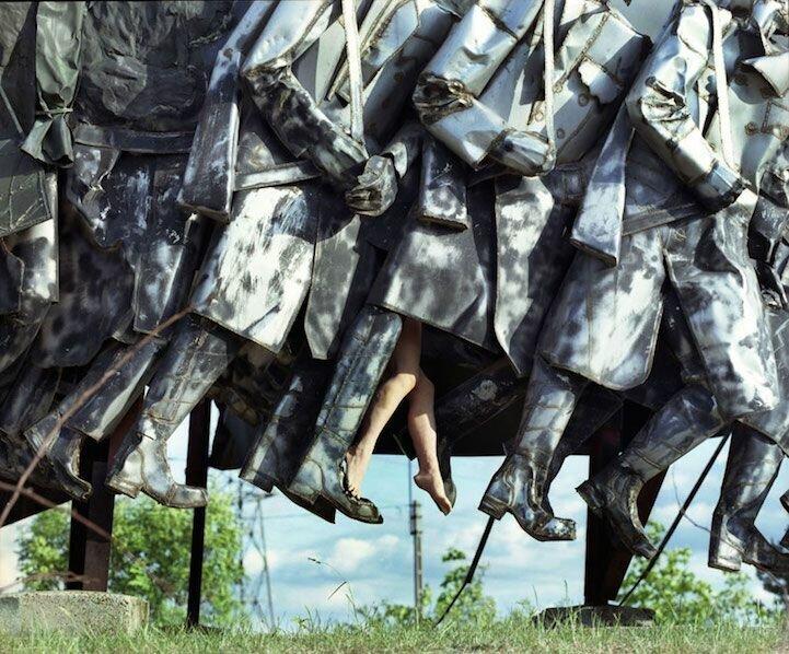 Нестандартные фотографии с памятниками