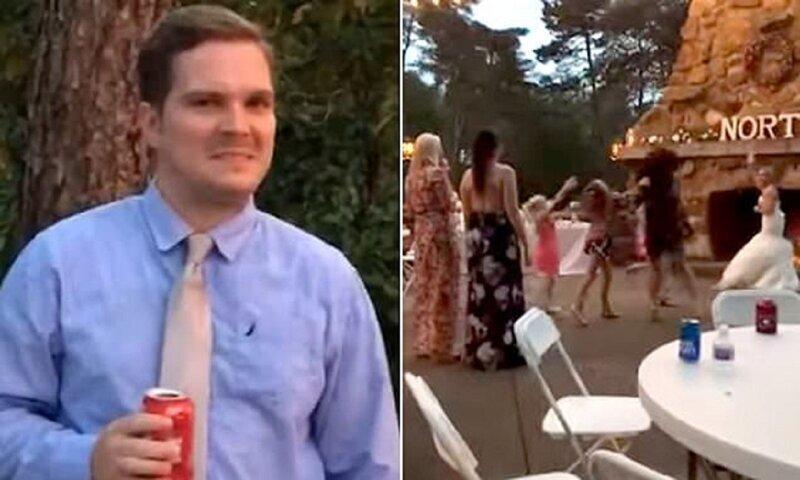 Девушка поймала букет невесты - реакция бойфренда бесценна!