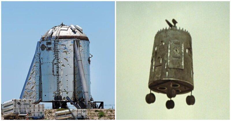 Прототип межпланетного корабля SpaceX впервые поднялся в воздух на 150 метров