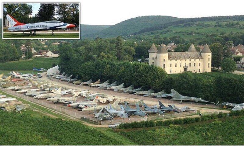 Французский коллекционер собрал частный воздушный флот