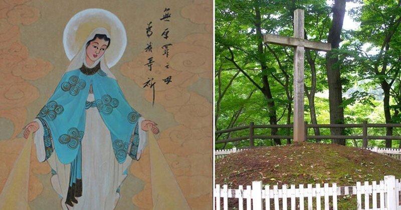 Иисус спасся и жил в Японии: доказательства из музея в Синго