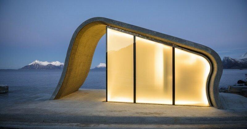 Этот общественный туалет в Норвегии по праву можно считать одним из лучших в мире