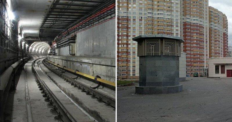 6 станций Московского метрополитена, которые стали «призраками»