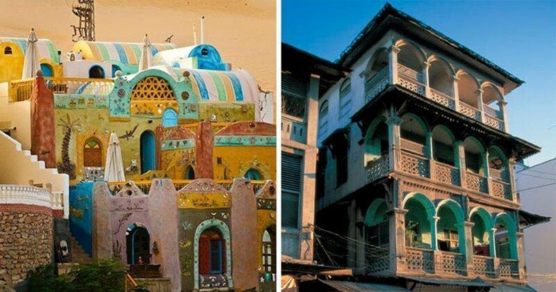 45 великолепных примеров архитектурных стилей Африки