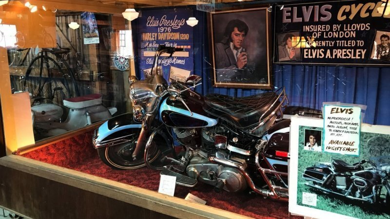 Harley-Davidson Элвиса Пресли продан за 800 тысяч долларов