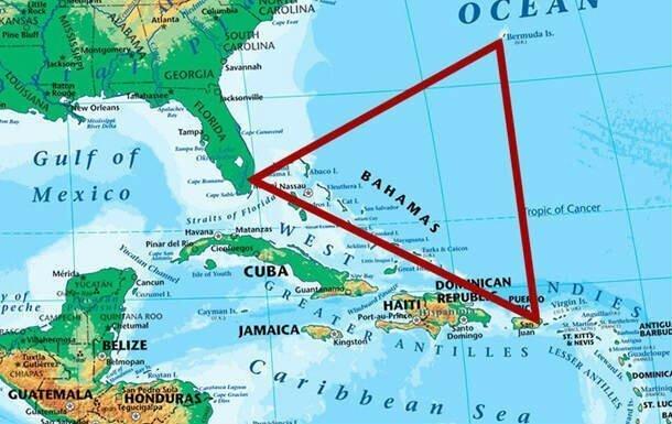 Тайна Бермудского треугольника раскрыта: почему там пропадают корабли и самолёты?