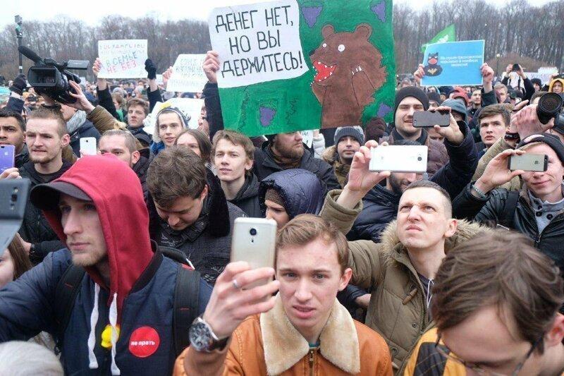 Путин рассказал, в чём польза молодёжных протестов