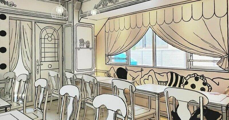 Необычное кафе в Японии заставит вас почувствовать, что вы попали в комикс
