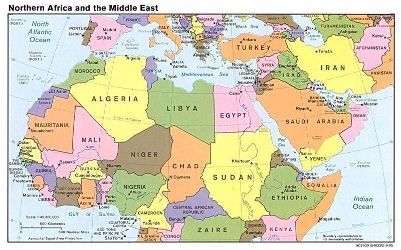 Почему у африканских стран ровные границы?