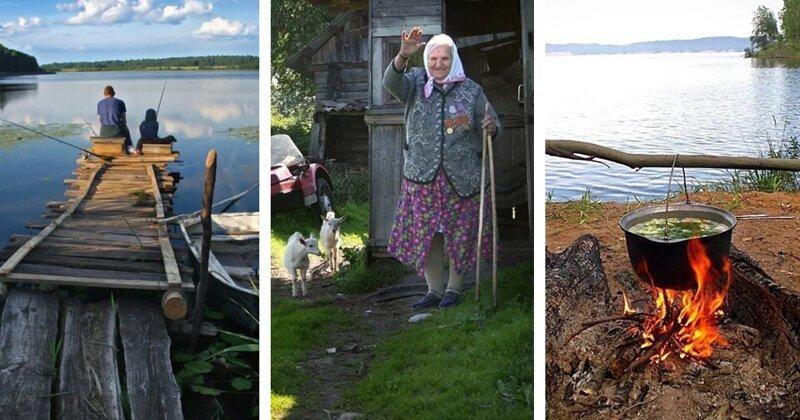 Лето у бабушки в деревне. Теплые фотографии, согревающие душу